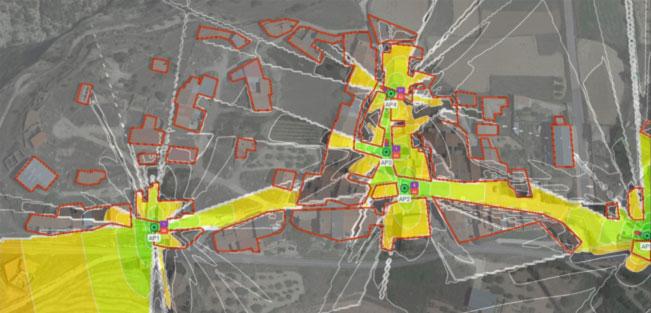 Losilla mapa cobertura